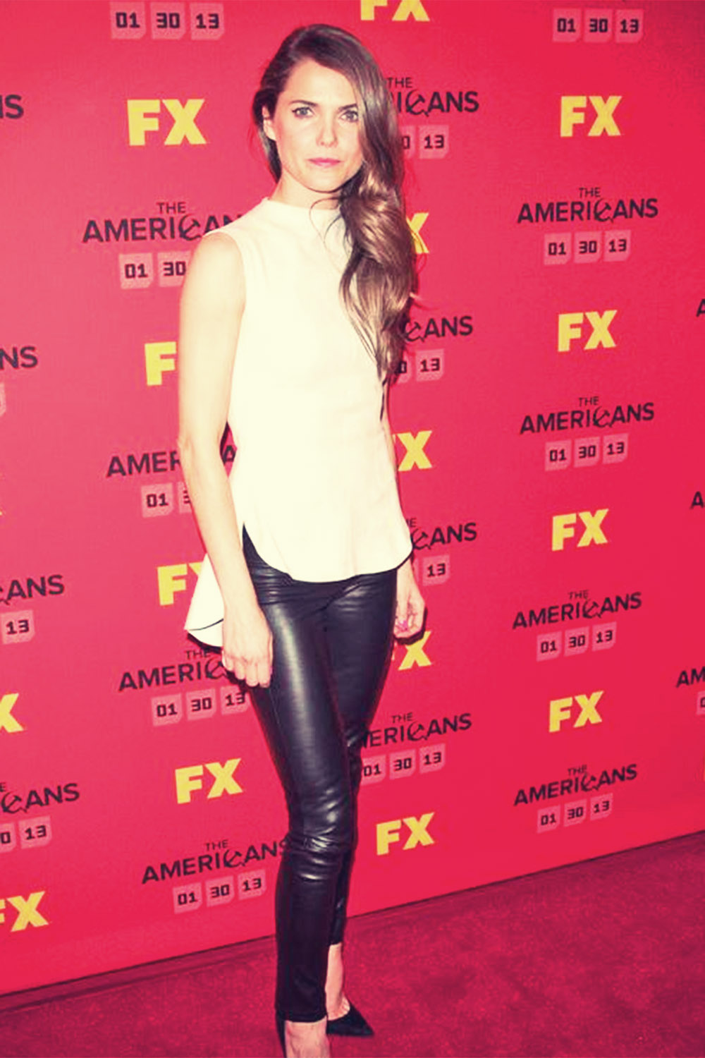 Keri Russell attend FX's The Americans Season One New York Premiere