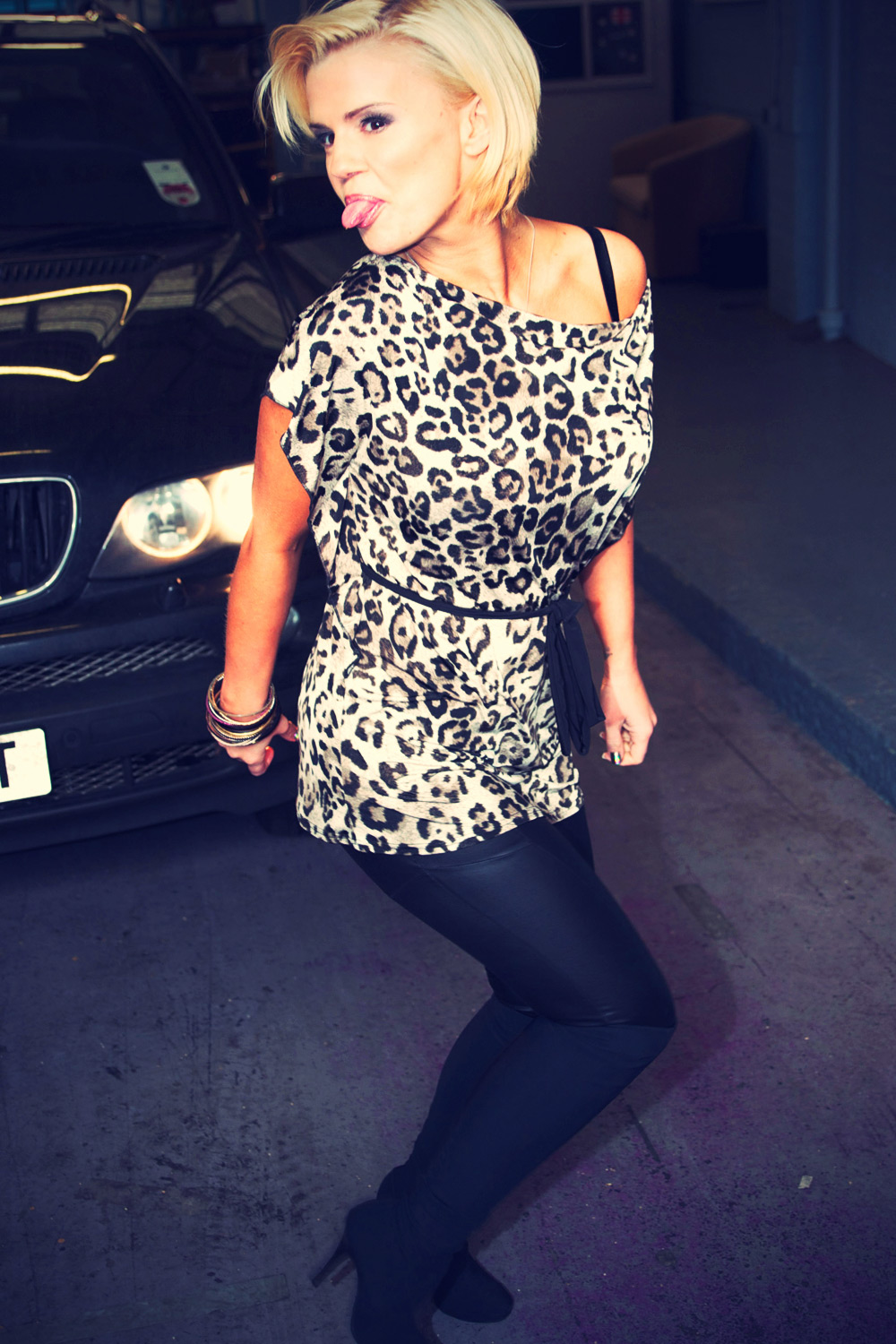 Kerry Katona at ITV Studios