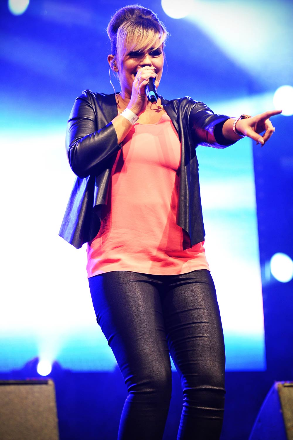 Kerry Katona perform at The Big Weekend Manchester Pride