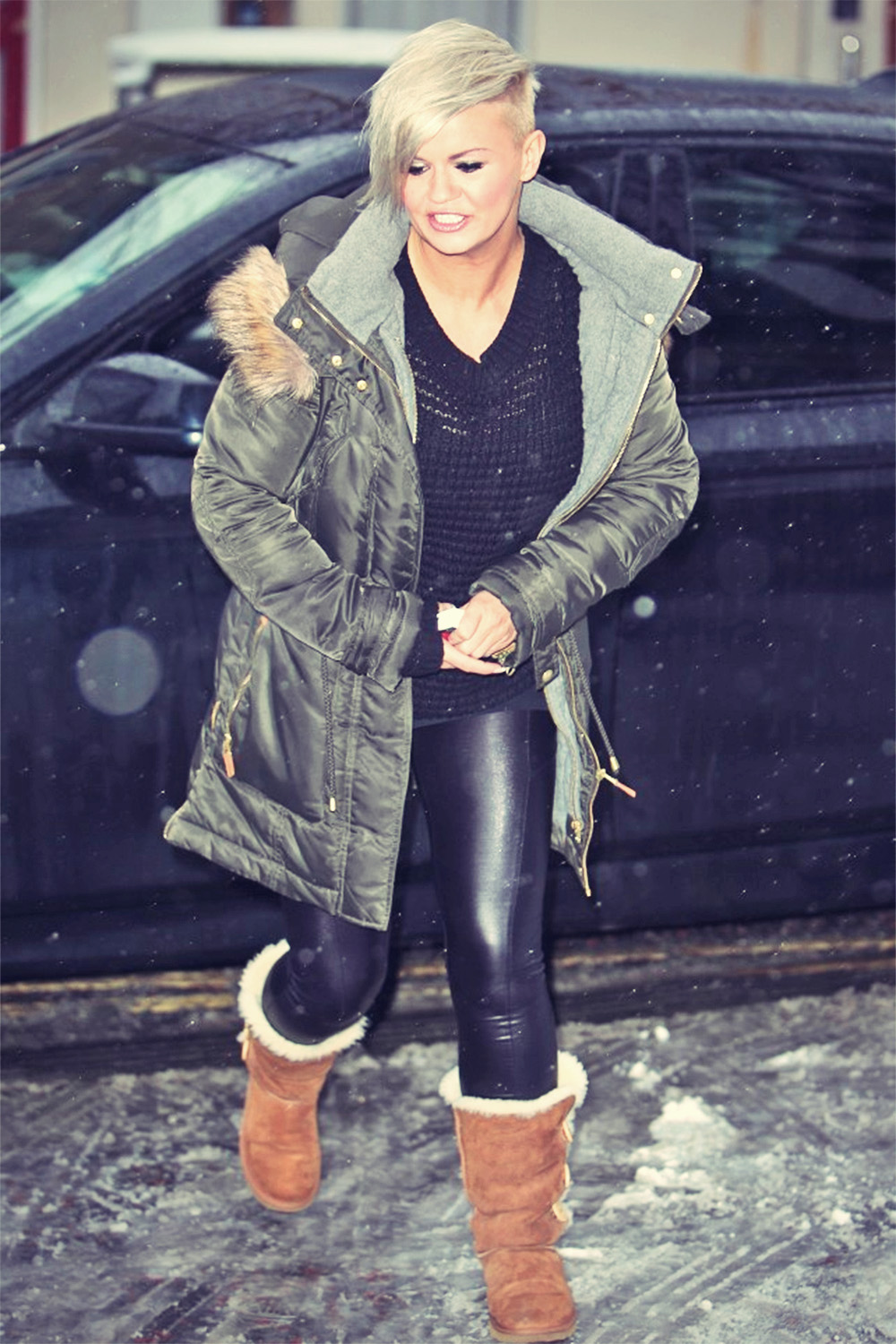 Kerry Katona At London Studios