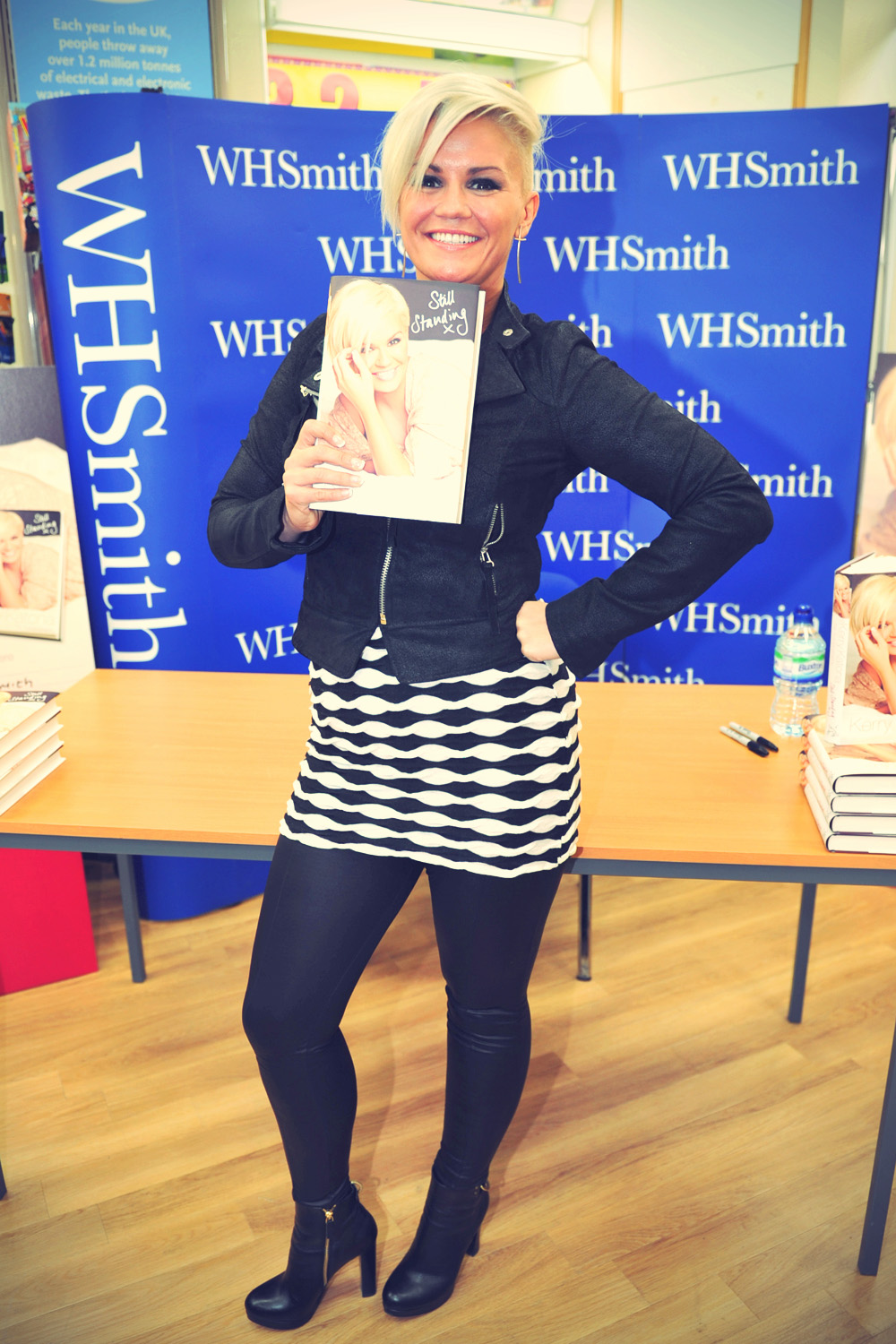 Kerry Katona Book signing WH Smith