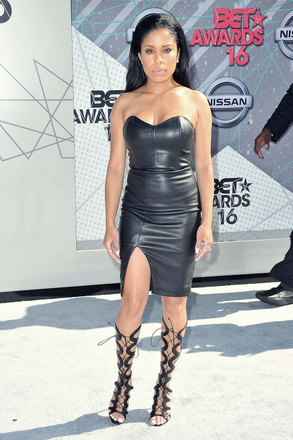 Keshia chante attends the 2016 bet awards leather celebrities