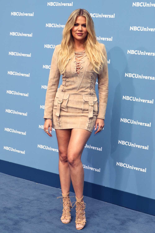 Khloe kardashian attends nbcuniversal 2016 upfront for How to dress like khloe kardashian