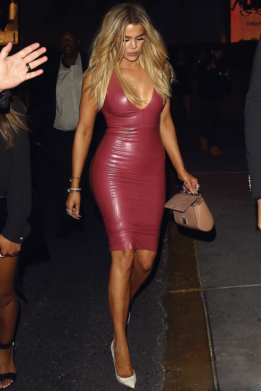 Khloe Kardashian Attends Oak Nightclub Inside The Mirage