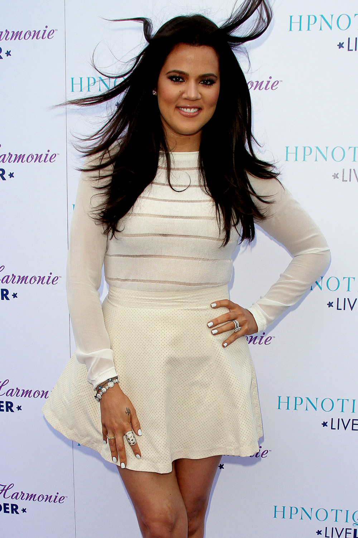 Khloe Kardashian celebrates HPNOTIQ Harmonie Liqueur