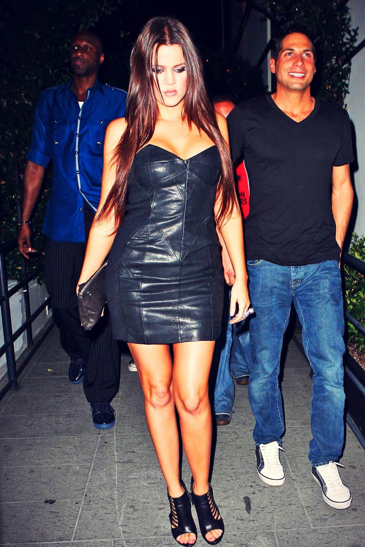 Khloe Kardashian leaves STK restaurant