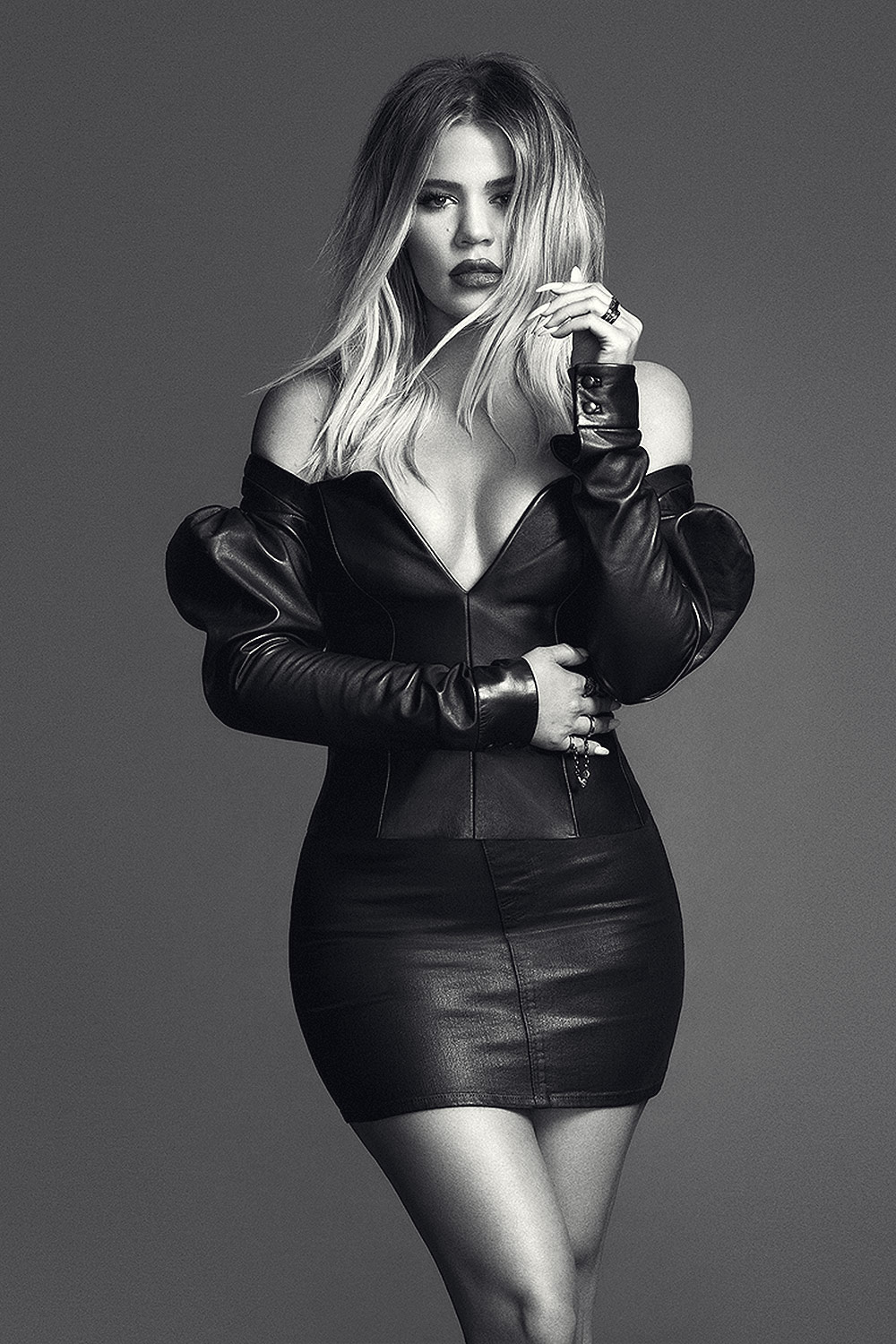Khloe Kardashian photoshoot for GOOD AMERICAN