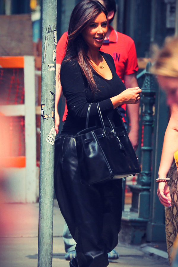 Kim Kardashian shopping around SoHo
