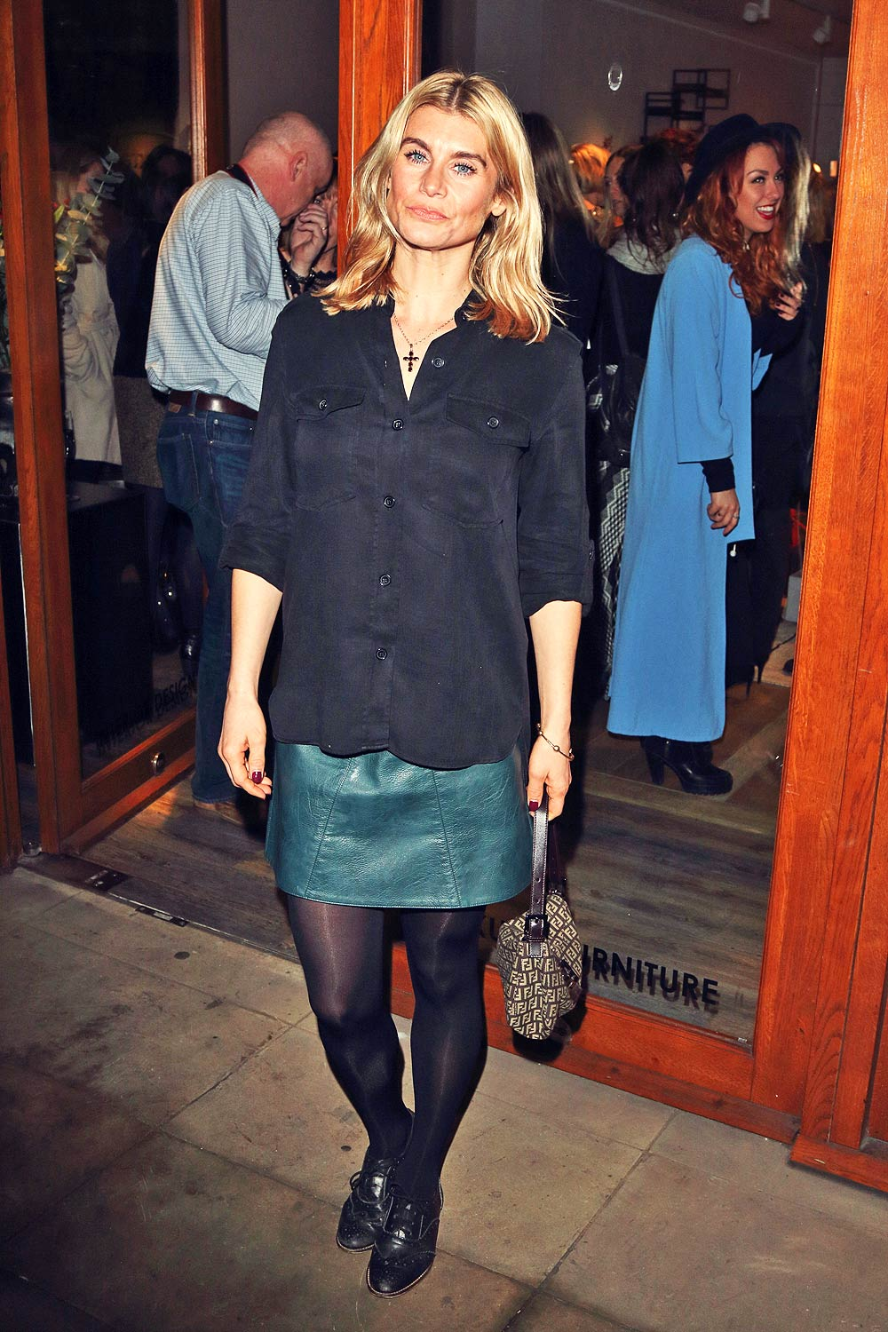 Kim Tiddy attends Look Good Feel Better Launch Champagne Reception