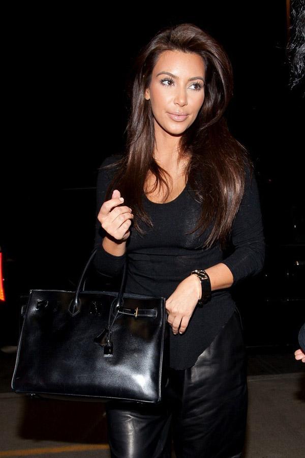 Kim Kardashian Flies Out of LA