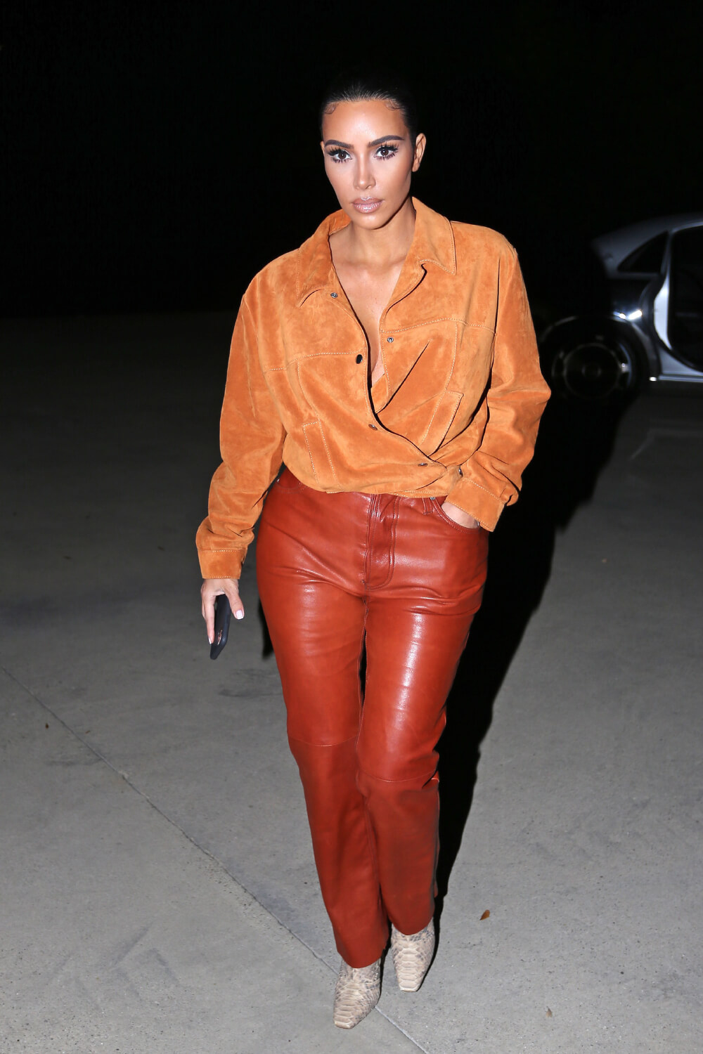 Kim Kardashian West out in Malibu