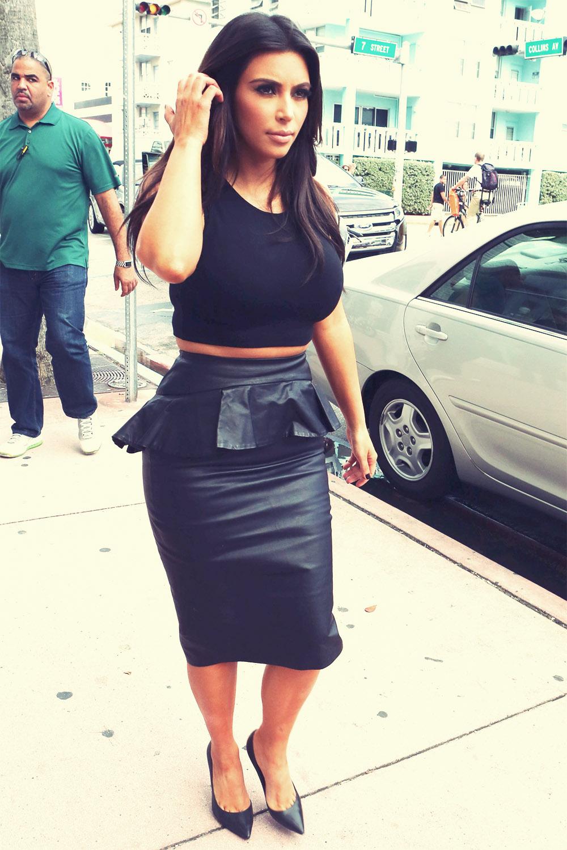 Kim Kardashian at Dash Miami boutique