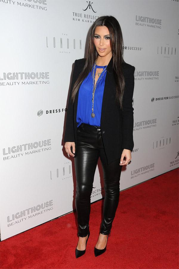 Kim Kardashian at True Reflection fragrance launch in West Hollywood