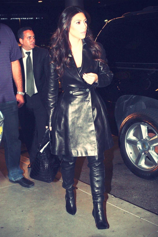 Kim Kardashian at the Miami International Airport