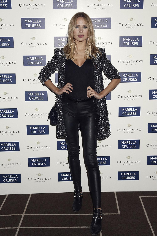 Kimberley Garner attends Marella Cruises First Spa