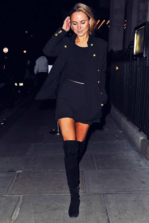 Kimberley Garner Out in London