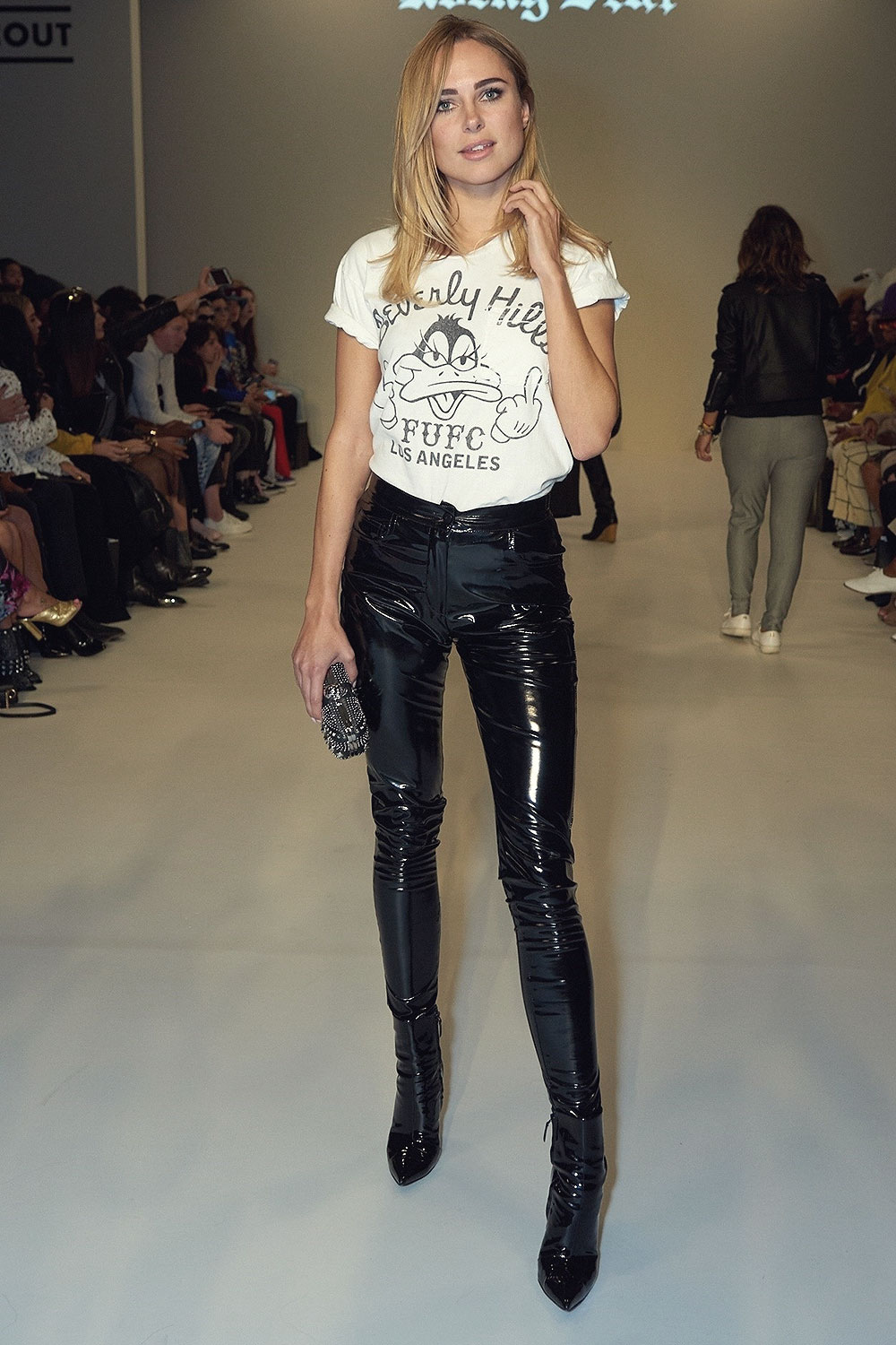 Kimberley Garner Attends Rocky Star Catwalk Leather