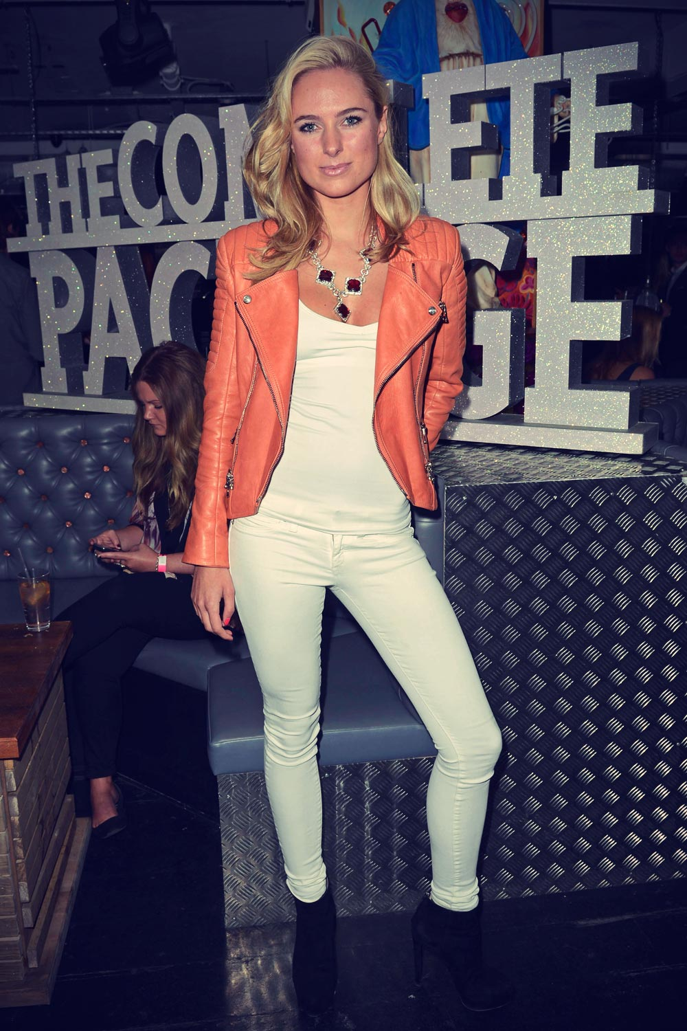 Kimberley Garner attends The Complete Package wrap party