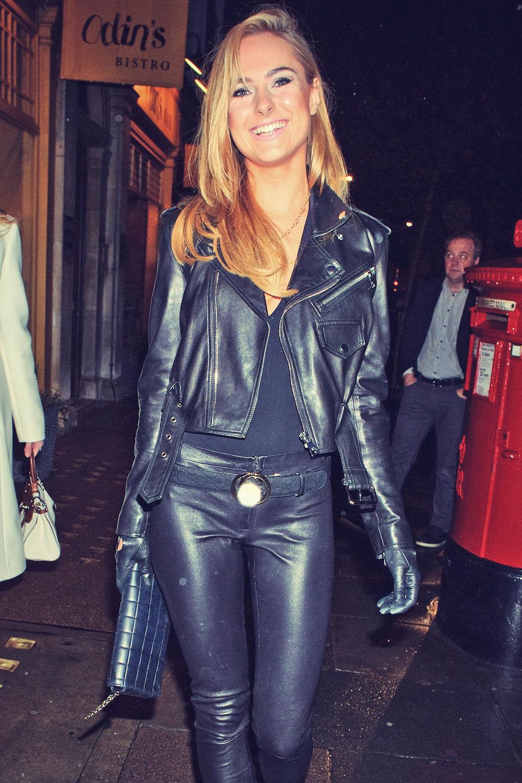 Kimberley Garner seen in Marylebone