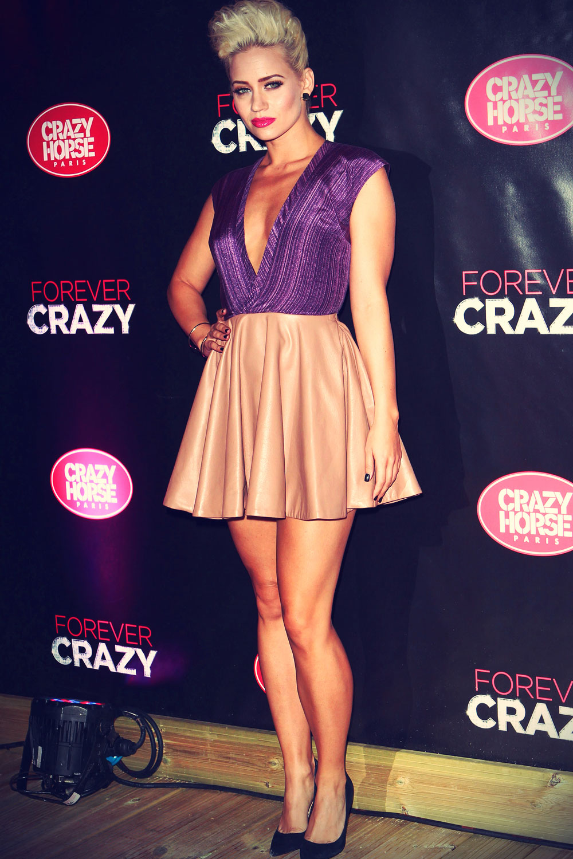 Kimberly Wyatt at Premiere of Crazy Horse