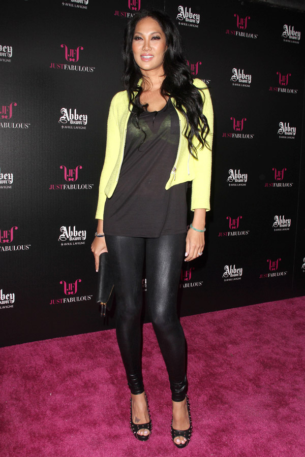 Kimora Lee Simmons Launch of the Abbey Dawn Collection held at The Viper Room in West Hollywood