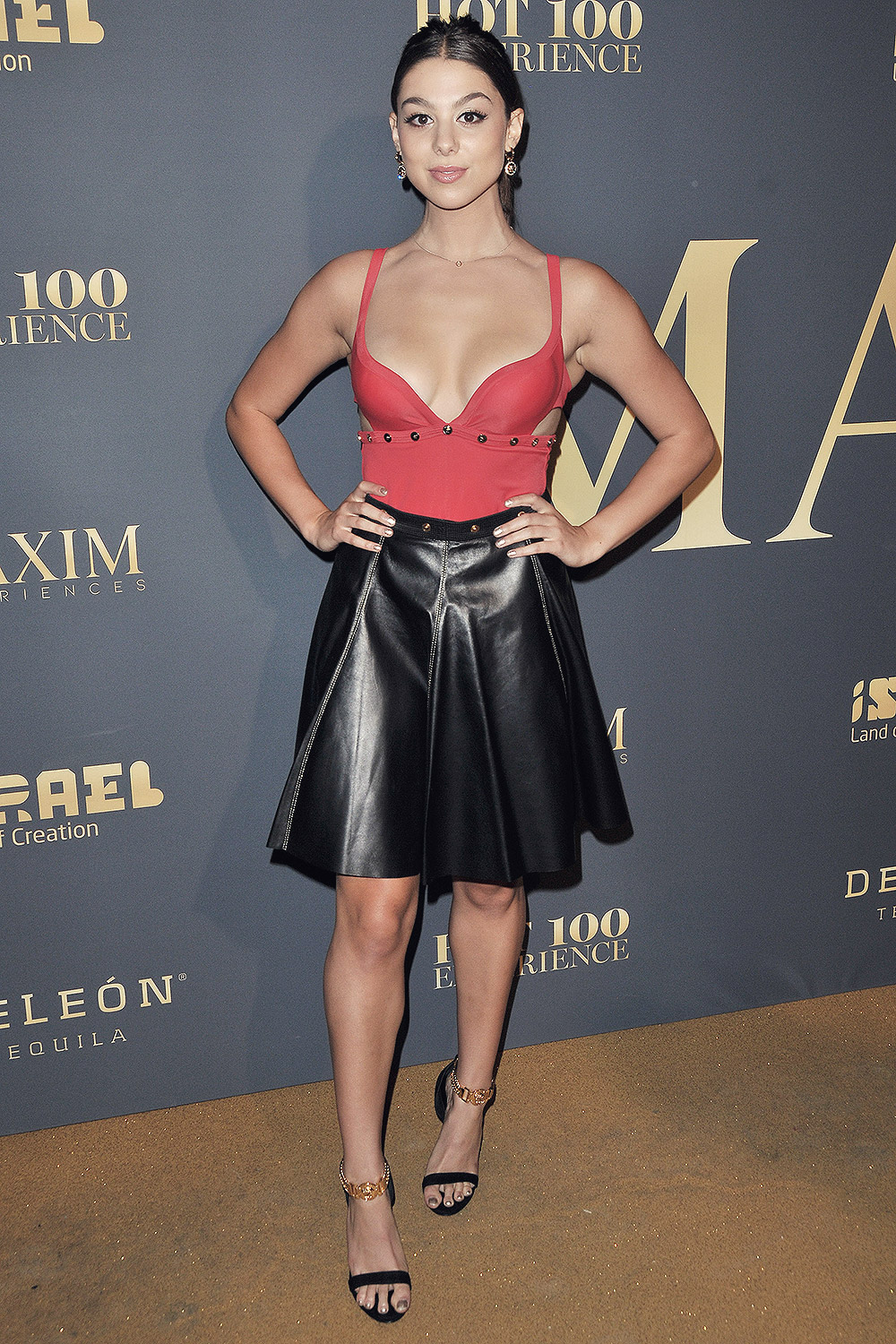Kira Kosarin attends The Maxim Hot 100 Experience