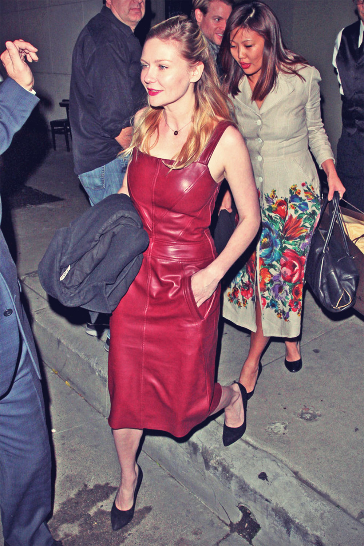 Kirsten Dunst leaves Craig's restaurant