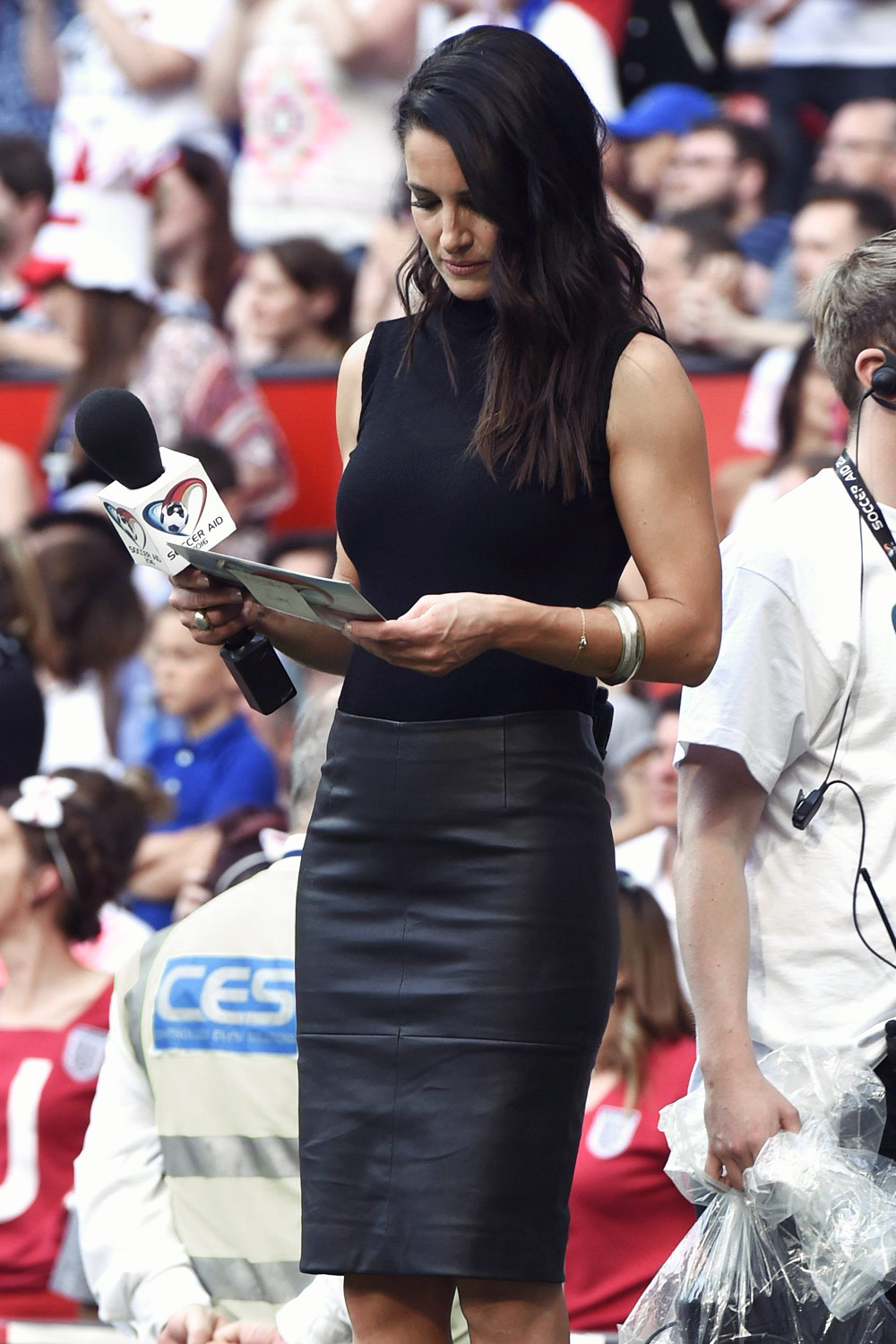 Kirsty Gallacher attends Soccer Aid