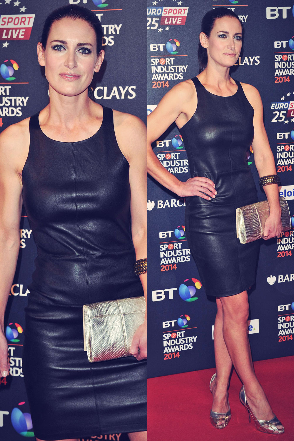Kirsty Gallacher attends BT Sport Industry Awards