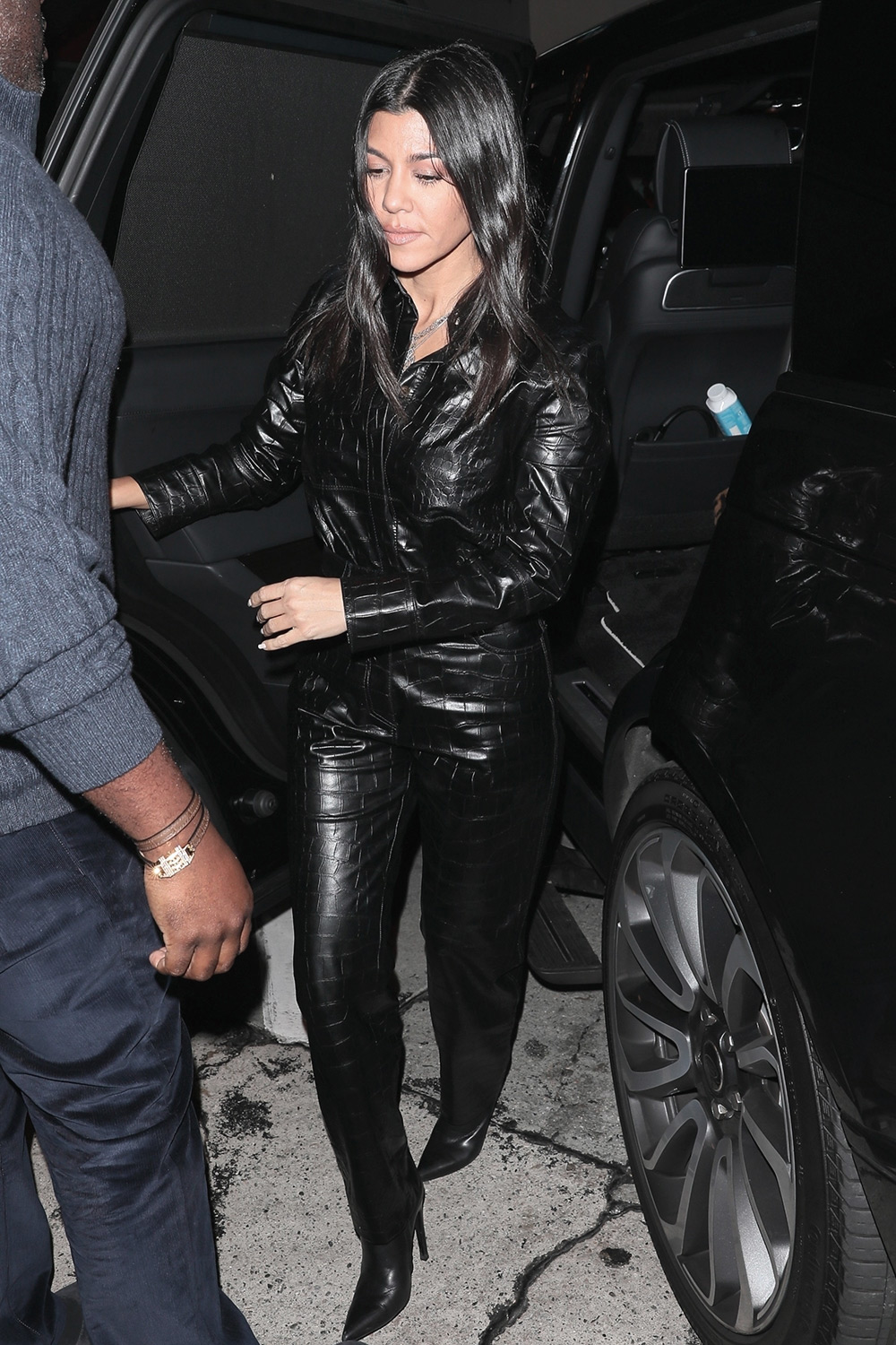 Kourtney Kardashian at Craigs