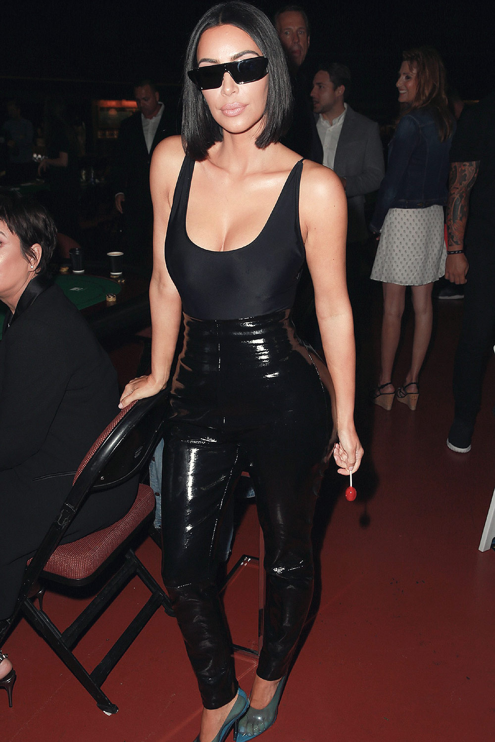 Kim Kardashian attends If Only Texas Hold'Em Charity Poker Tournament