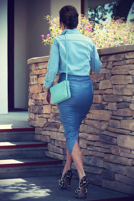 Kourtney Kardashian on her way to film her reality show