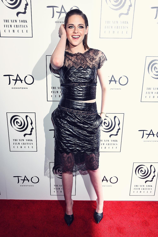 Kristen Stewart attends 2015 New York Film Critics Circle Awards