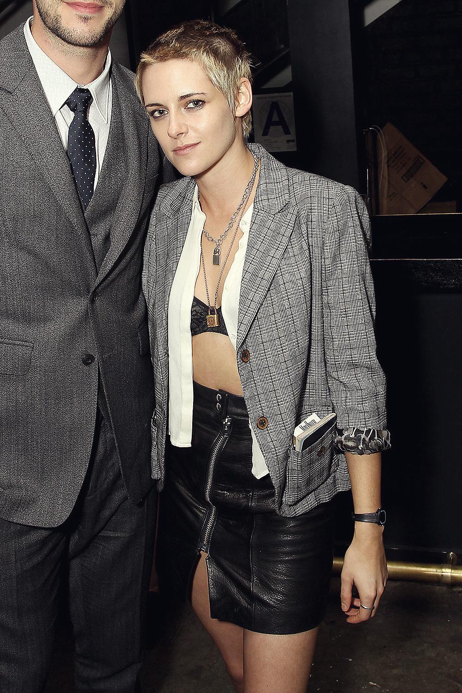 Kristen Stewart attends Rebel in the Rye Screening