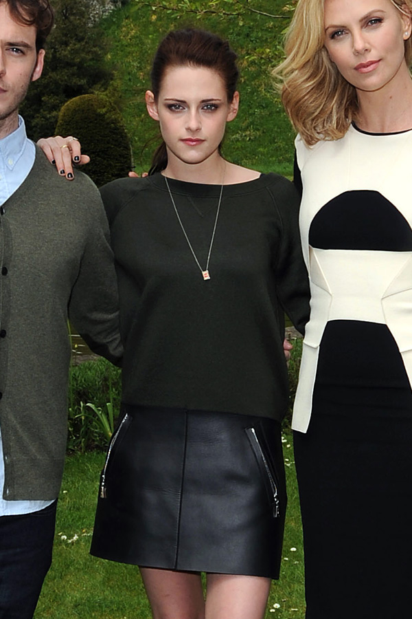 Kristen Stewart attends a photo call for Snow White