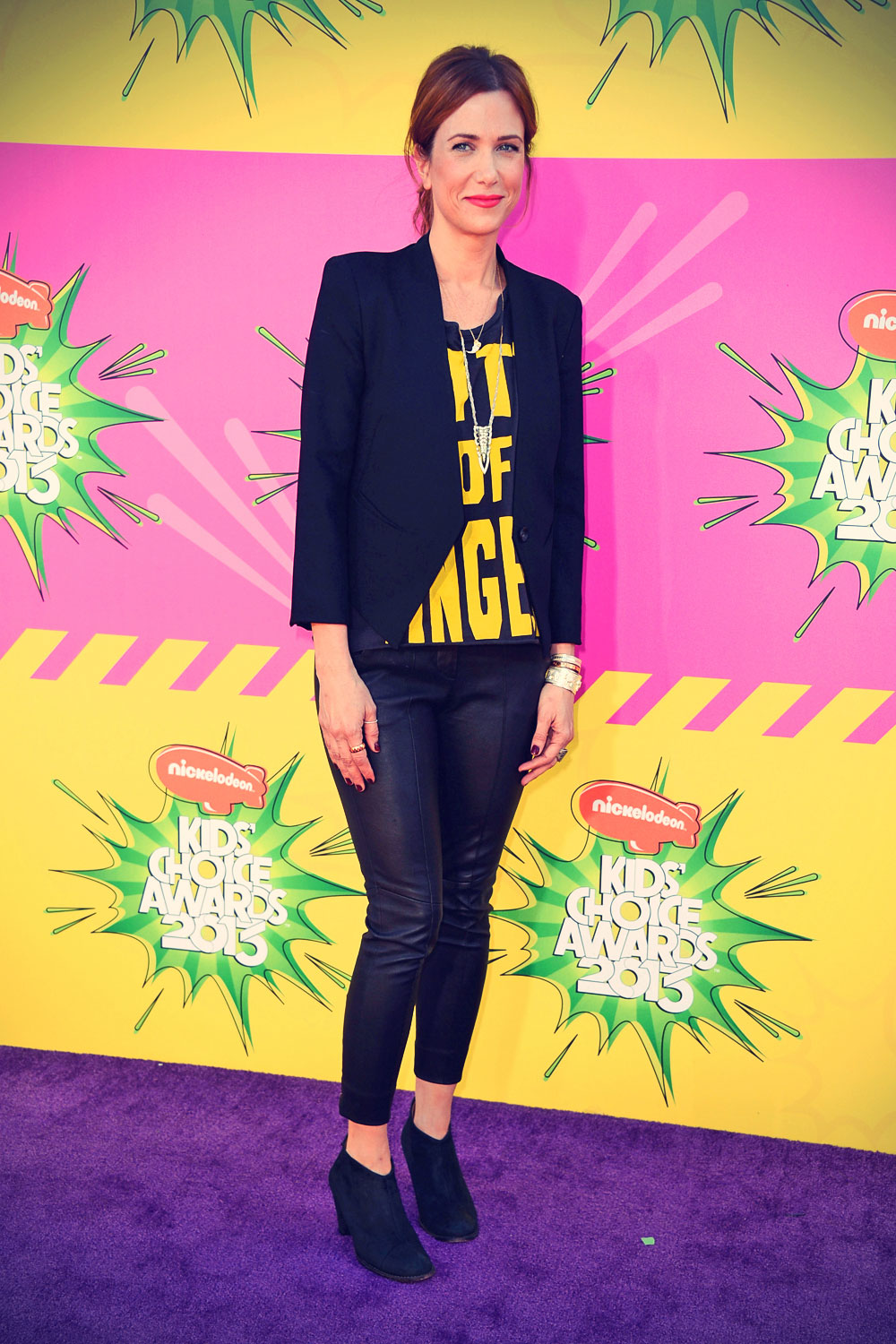 Kristen Wiig 26th annual Kids' Choice Awards