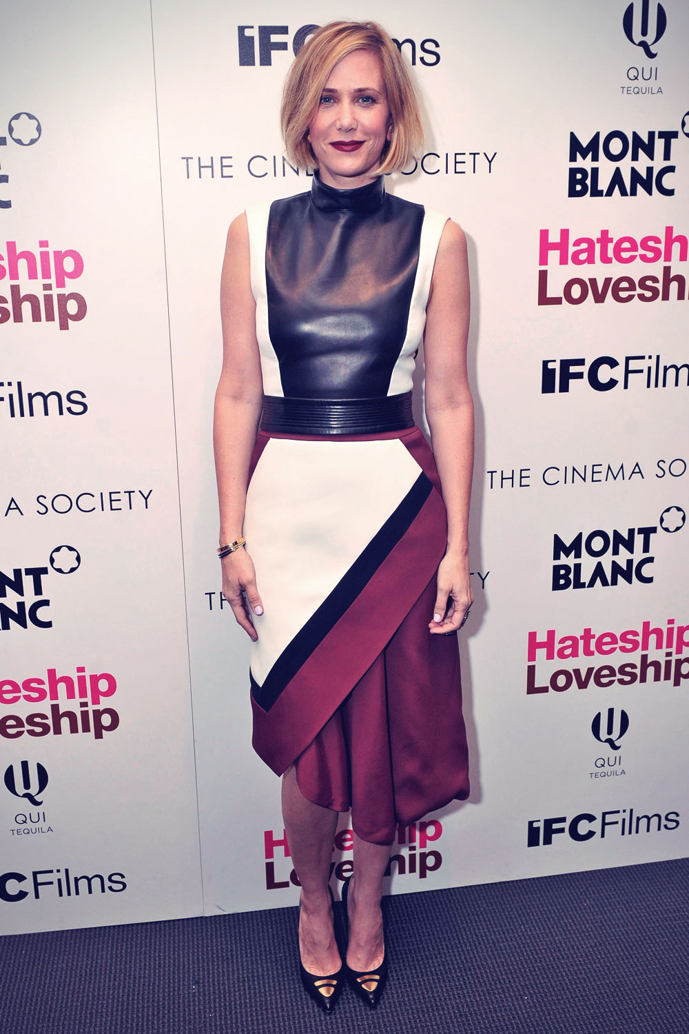 Kristen Wiig attends the screening of IFC Films Hateship Loveship
