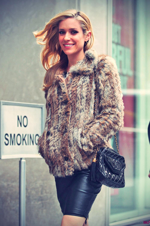 Kristin Cavallari walking around midtown Manhattan