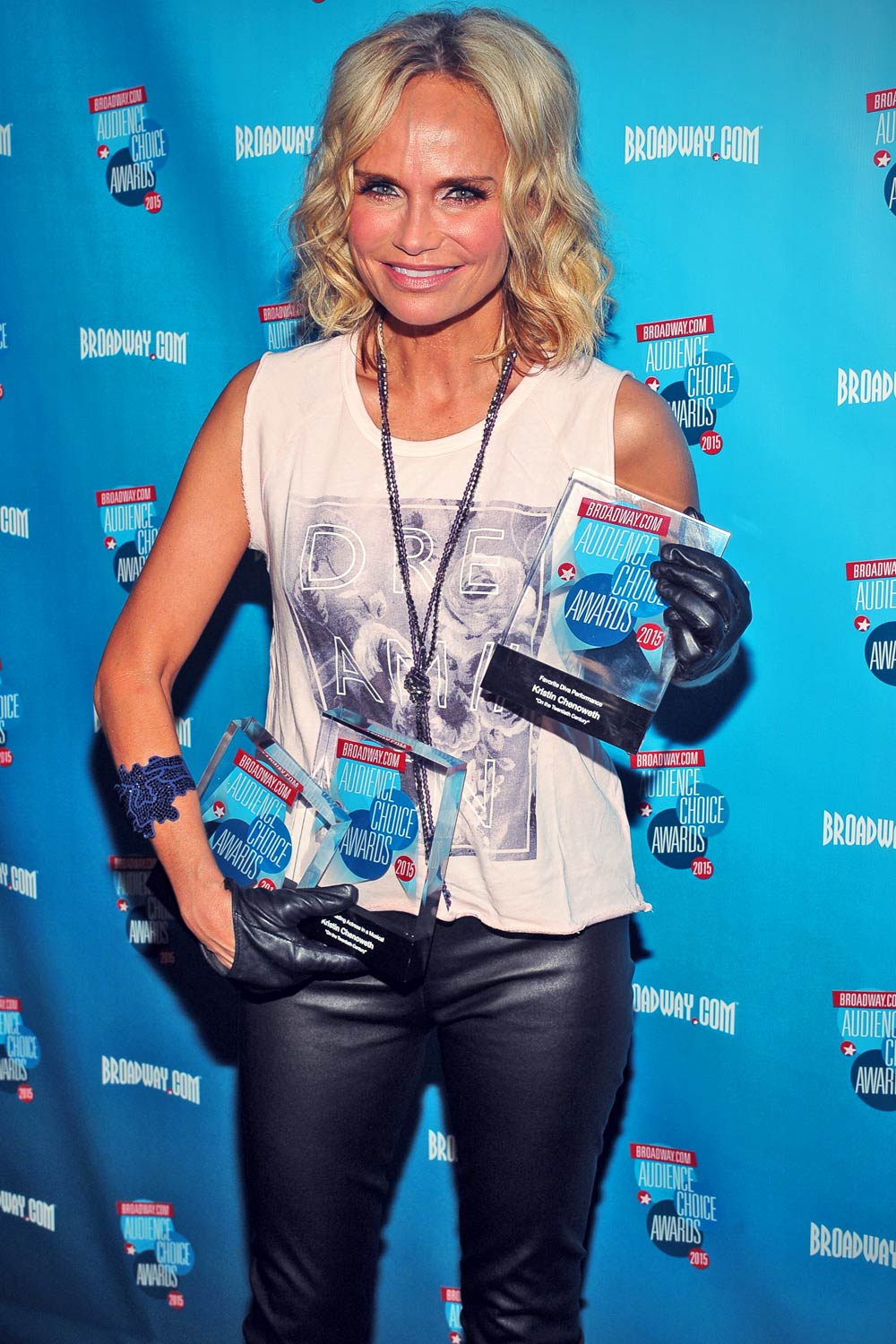 Kristin Chenoweth attends the Broadway.com Audience Choice Awards