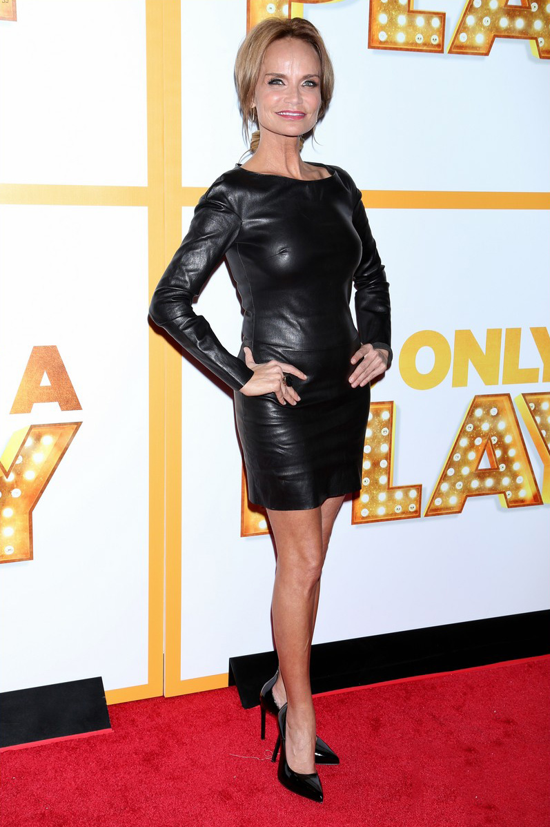 Kristin Chenoweth attends the opening night of It's Only A Play