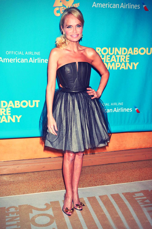 Kristin Chenoweth attends Broadway show On the Twentieth Century