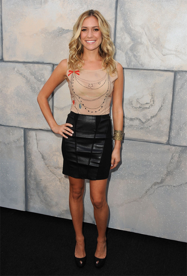 Kristin Cavallari at Comedy Central Roast Of Charlie Sheen in LA