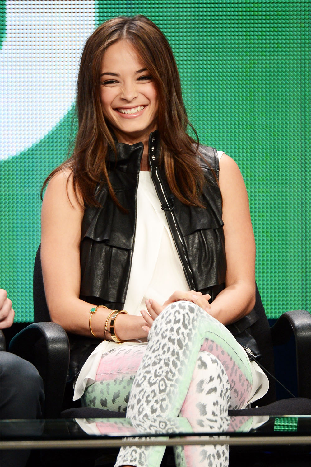 Kristin Kreuk at Beauty & The Beast panel