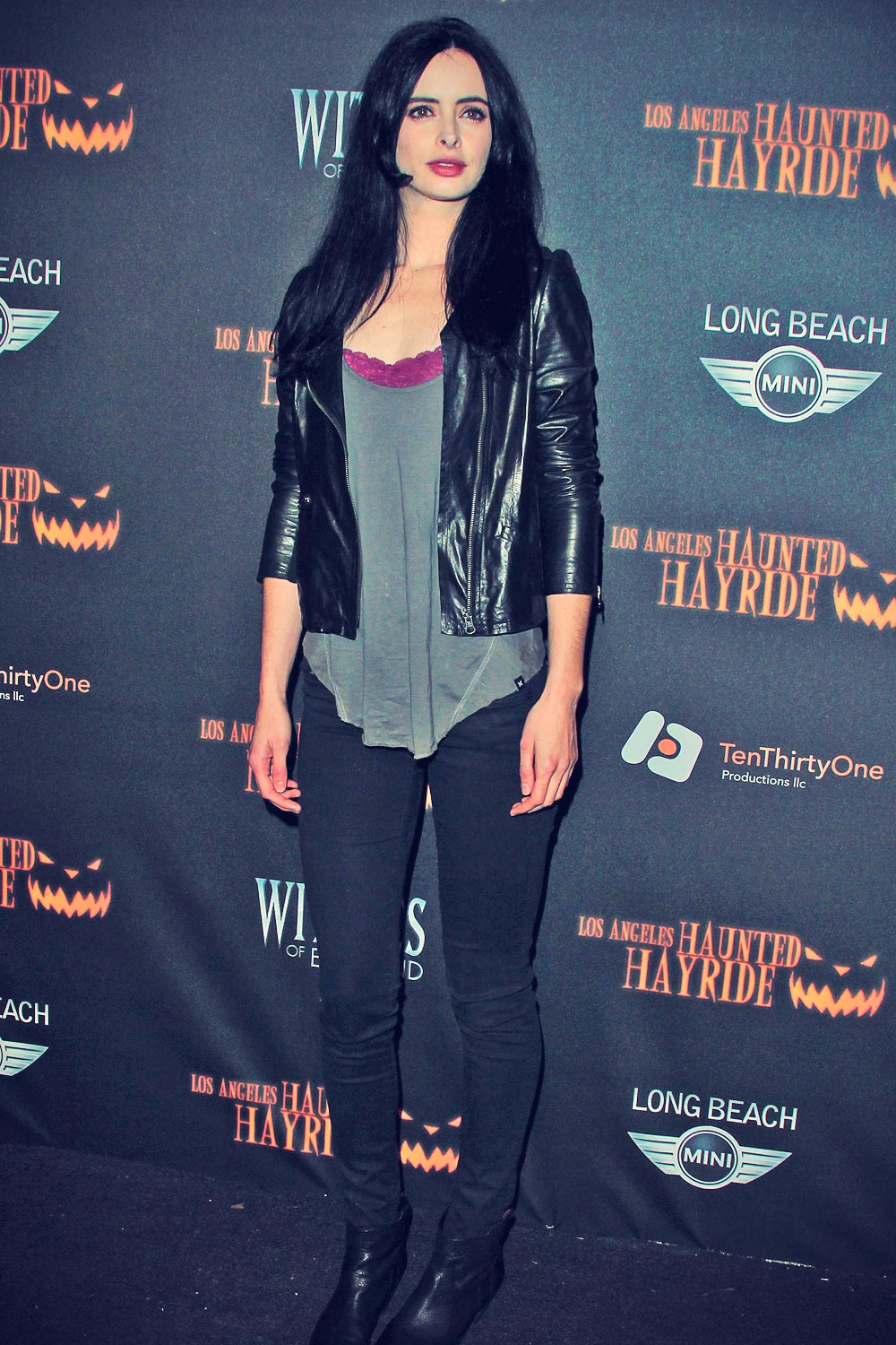 Krysten Ritter attneds 5th Annual Los Angeles Haunted Hayride opening night