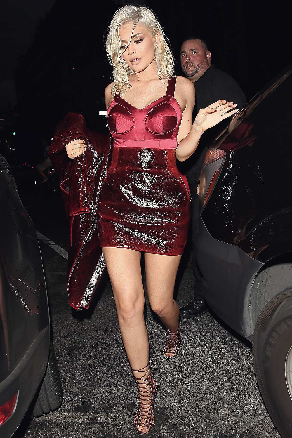 Kylie Jenner out for dinner in NYC