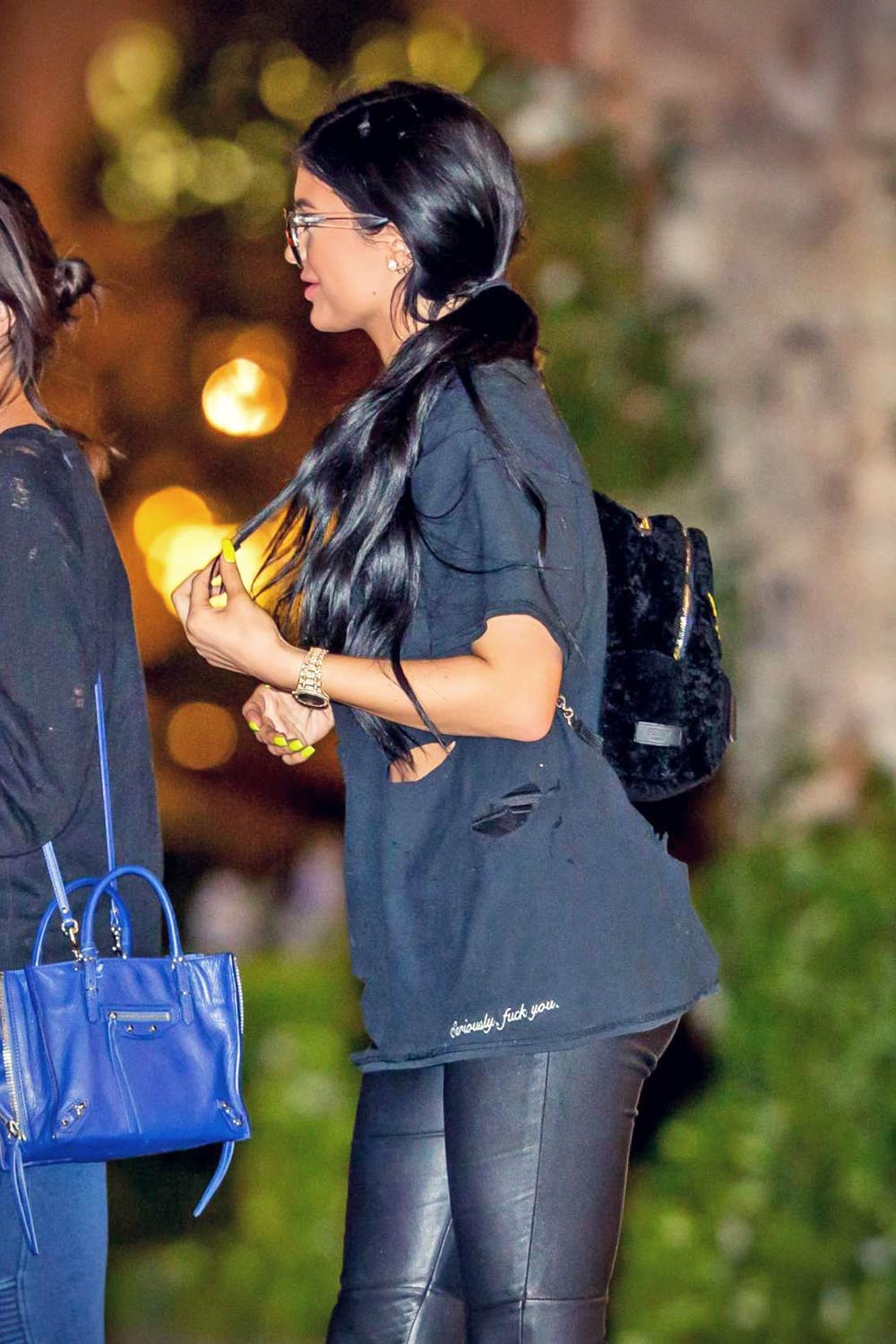 Kylie Jenner out in Los Angeles
