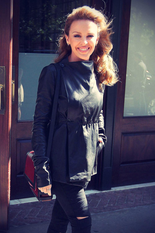 Kylie Minogue at  Greenwich hotel