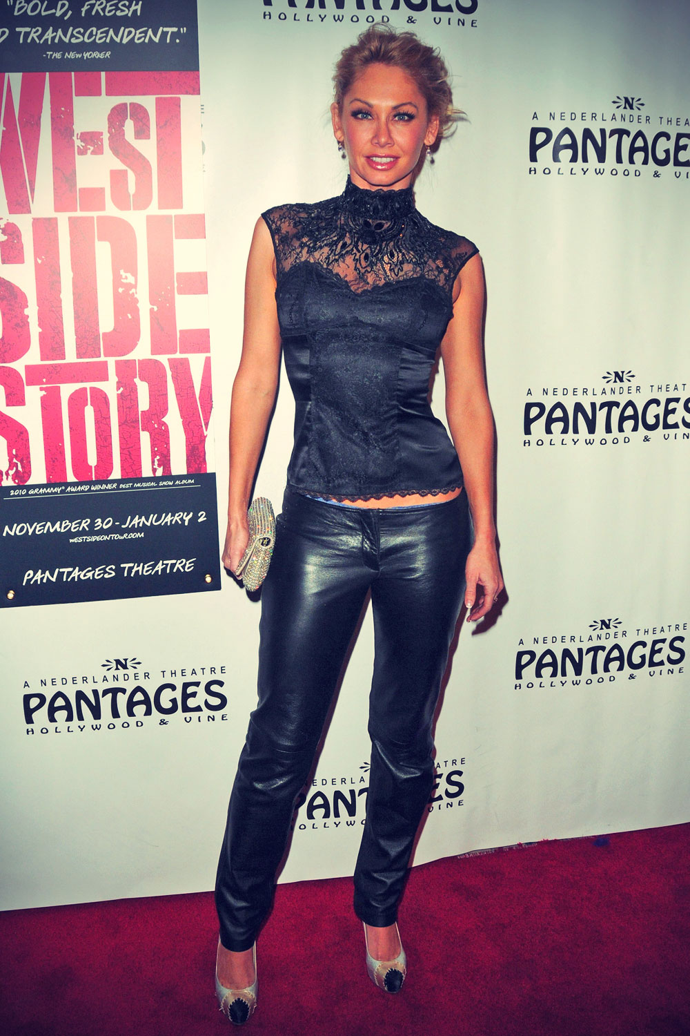 Kym Johnson Opening night of West Side Story