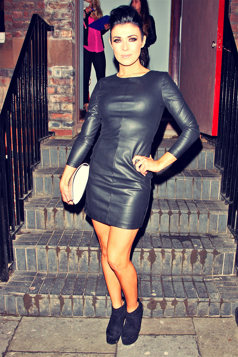 Kym Marsh attends opening of the Empire nightclub