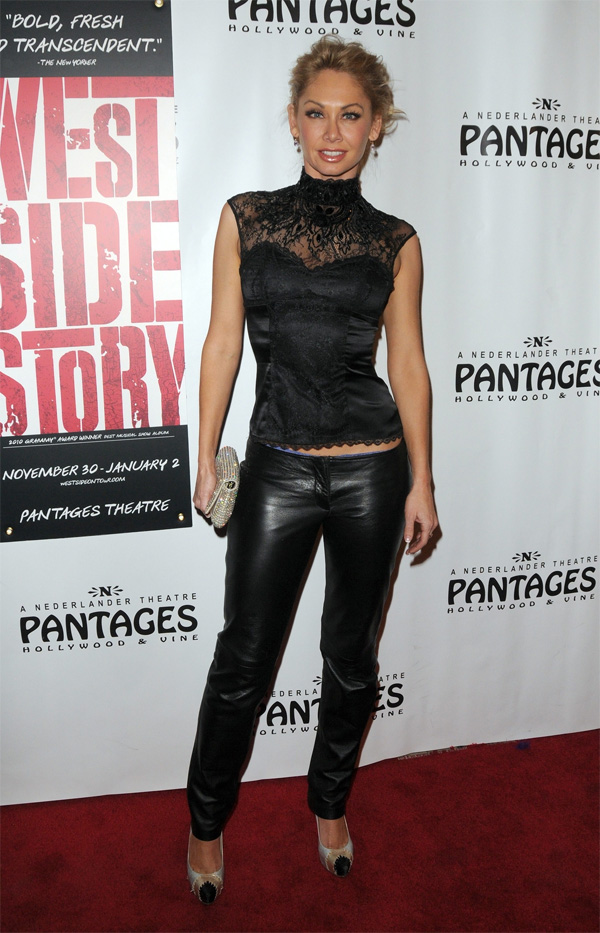 Kym Johnson Opening night of West Side Story at the Pantages Theatre in Hollywood